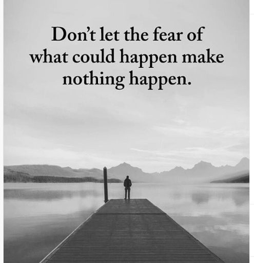 positive daily intention fear